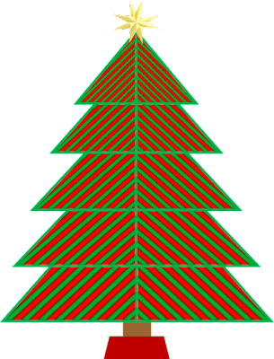 C Program For Draw A Perfect Christmas Tree