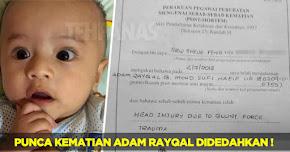 Thumbnail image for Punca Sebenar Kematian Adam Rayqal Sangat Mengejutkan