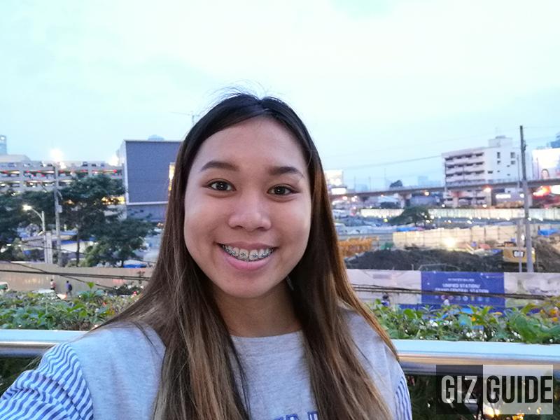 Outdoor selfie Nova 3i