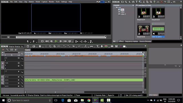 edius project song editing tutorial