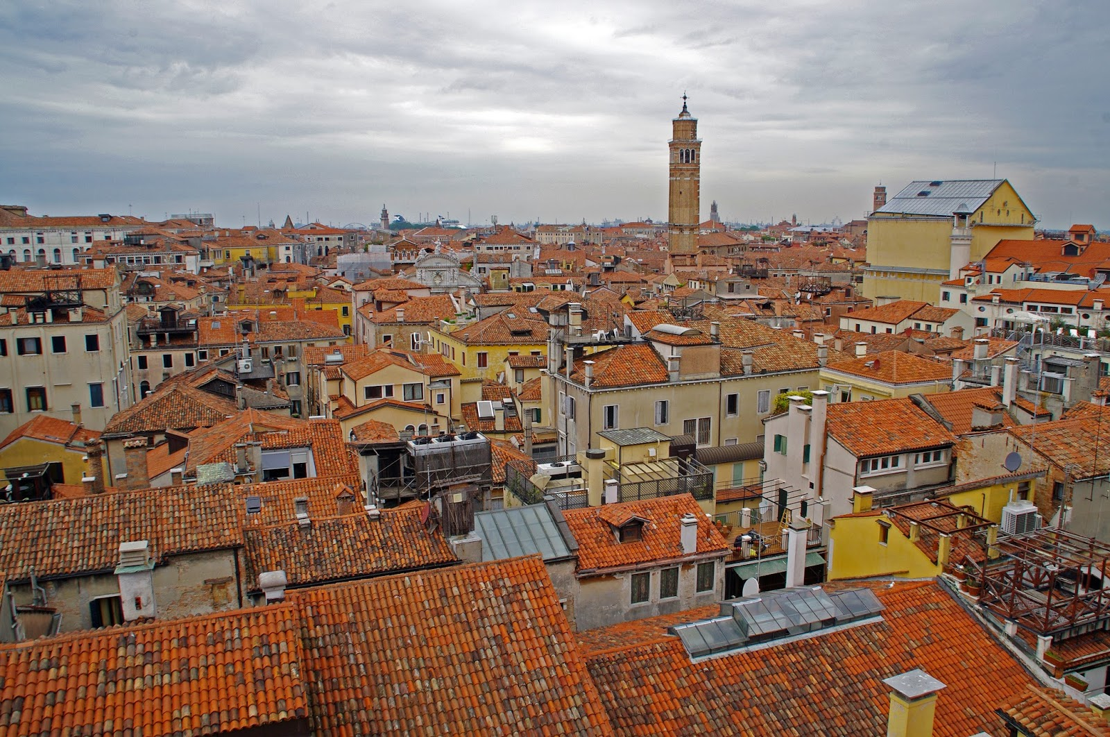 Westin Europa & Regina views from rooftop of Venice