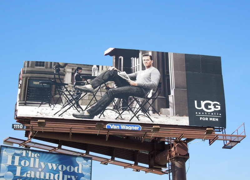 UGG Men special extension cafe billboard