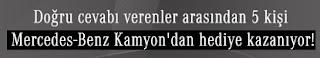 Mercedes Benz Kamyon Facebook Kampanyası