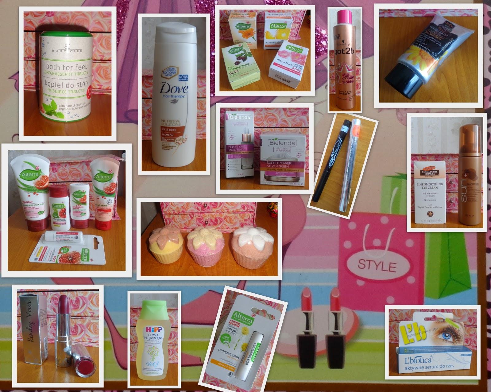 Sierpniowo - wrześniowe zakupy kosmetyczne :)