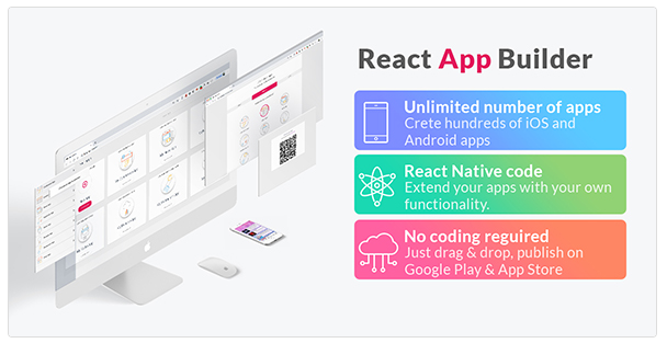 REACT APP BUILDER - ANDROID SOURCE CODE NULLED