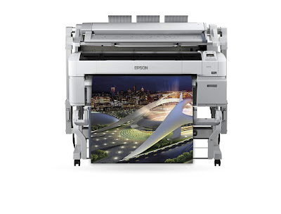 Auto media loading and switching maximises productivity and flexibility Epson SureColor SC-T5200D Driver Downloads