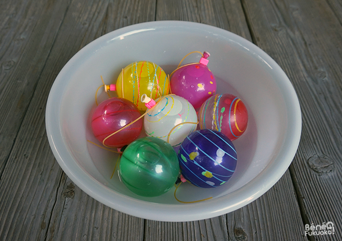 Mizu yoyo, des ballons à eau lros des matsuri japonais