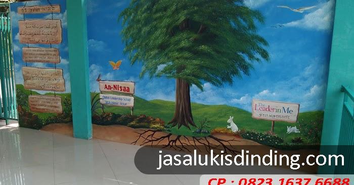Lukisan Dinding TK yang Edukatif