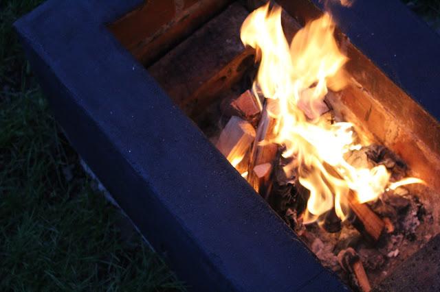 DIY building a fire pit
