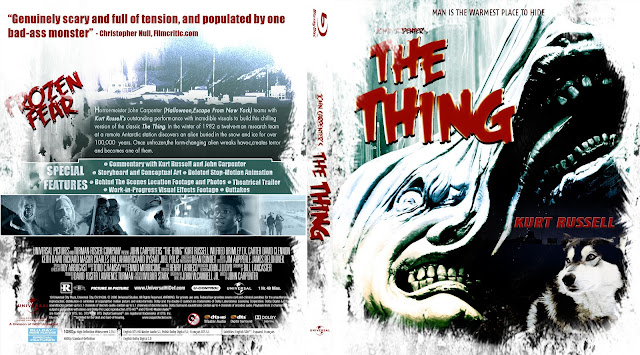 The Thing Bluray Cover