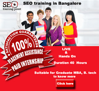 SEO Training Bangalore