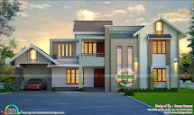 Beautiful Home Design Green Homes Thiruvalla - Kerala