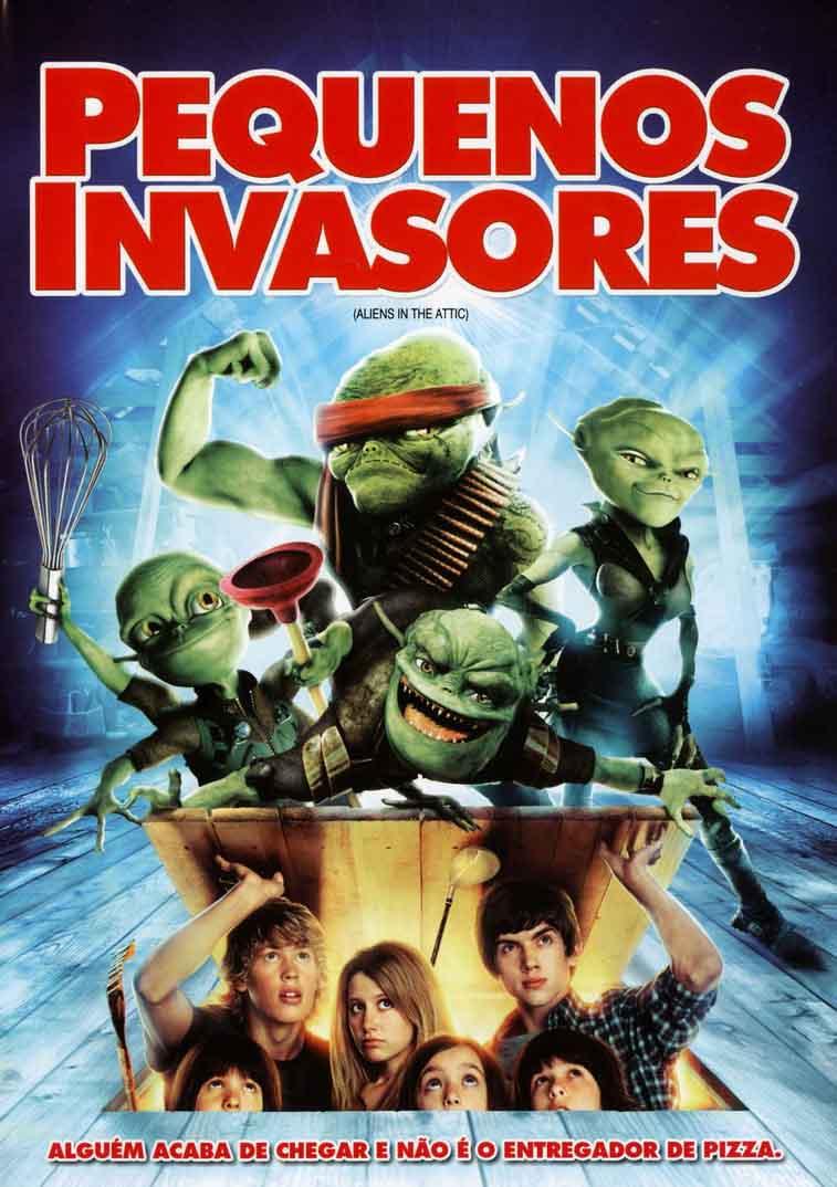 Pequenos Invasores Torrent - Blu-ray Rip 720p e 1080p Dual Áudio (2009)