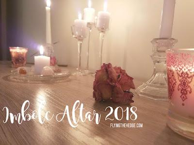 Imbolc Altar 2018