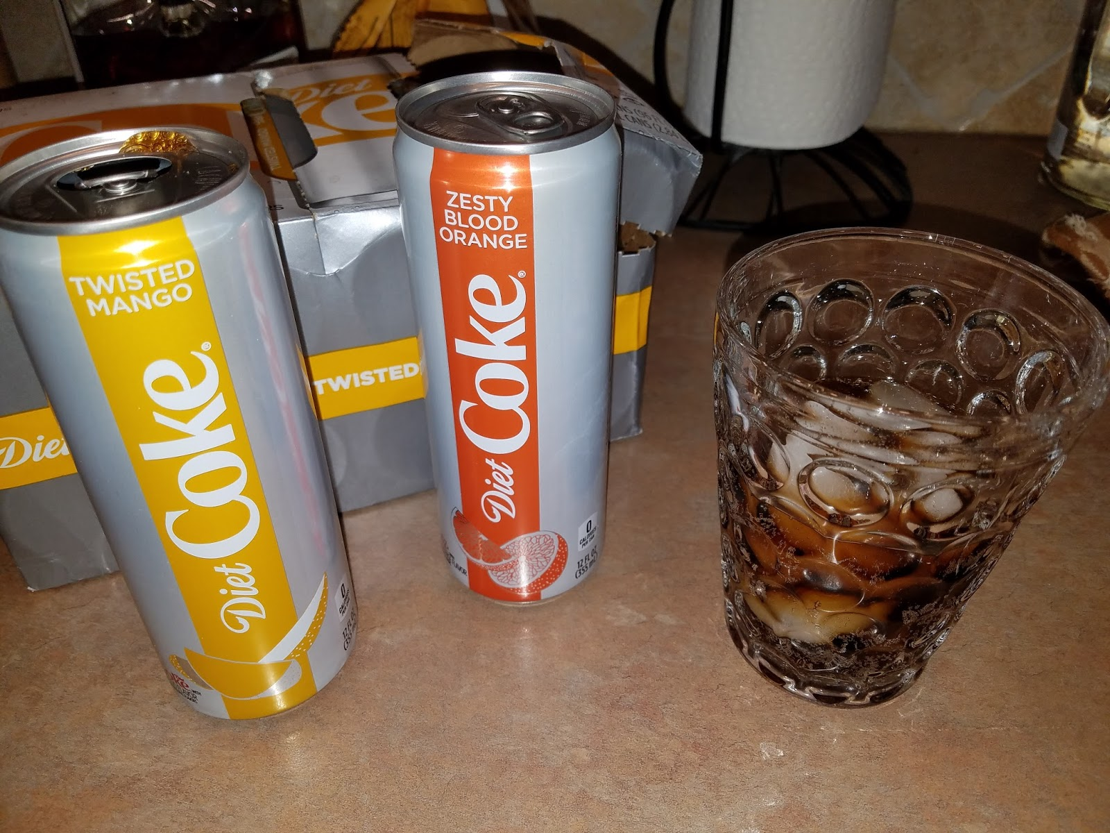 Greenlee Gazette Product Placement New Diet Coke Flavors A Review