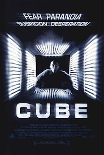 Theatrical Poster for CUBE (1997)