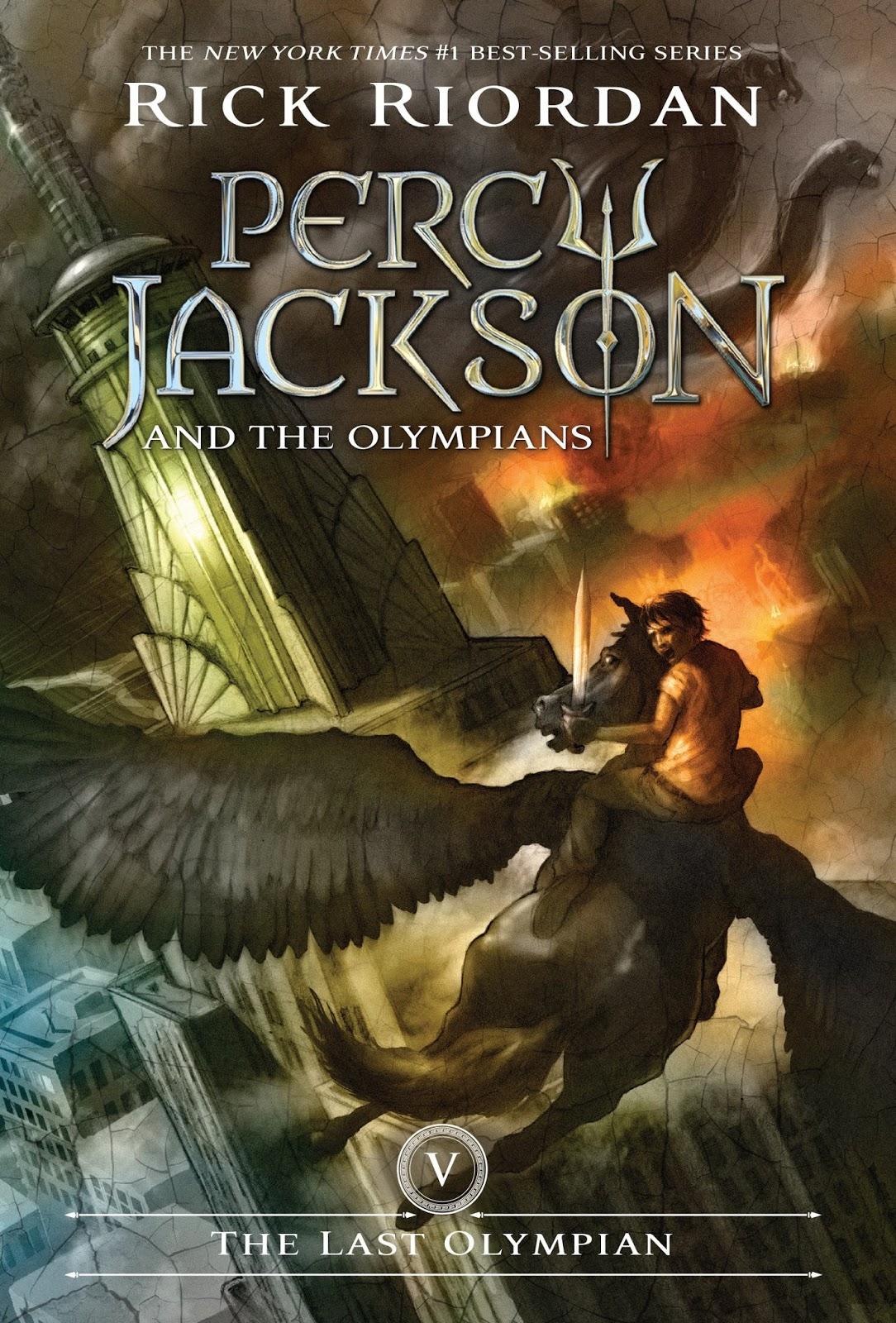 Rick Riordan - Percy Jackson   the Olympians - THE LAST OLYMPIAN