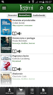 Aplikacja mobilna dla wielbicieli książek