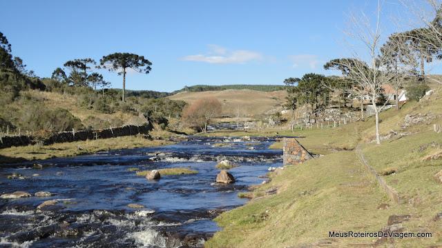 Rio da Cascata Barrinha - Bom Jardim da Serra/SC