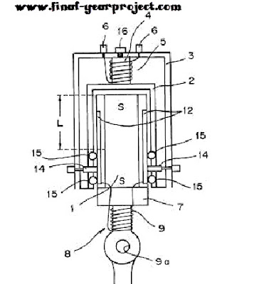 electromagnetic piston engine