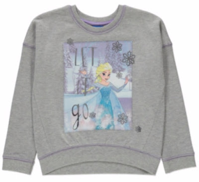 Elsa print on sweatshirt