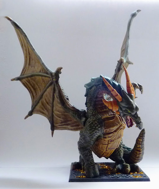 Karrathor the Unbroken - Dragon from Tyrant of Halpi expansion for Mantic's Dungeon Saga