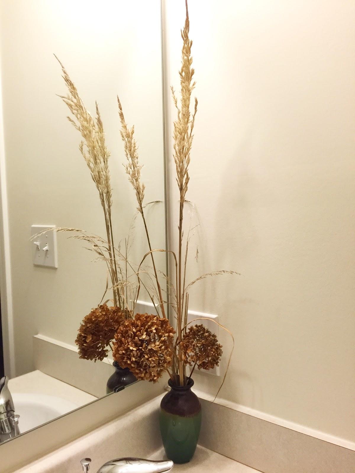 My First Dry Flower Arrangement Karl Foerster Annabelle