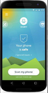 Avast Mobile Security software