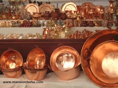 Artesanías de Santa Clara del Cobre, Michoacán