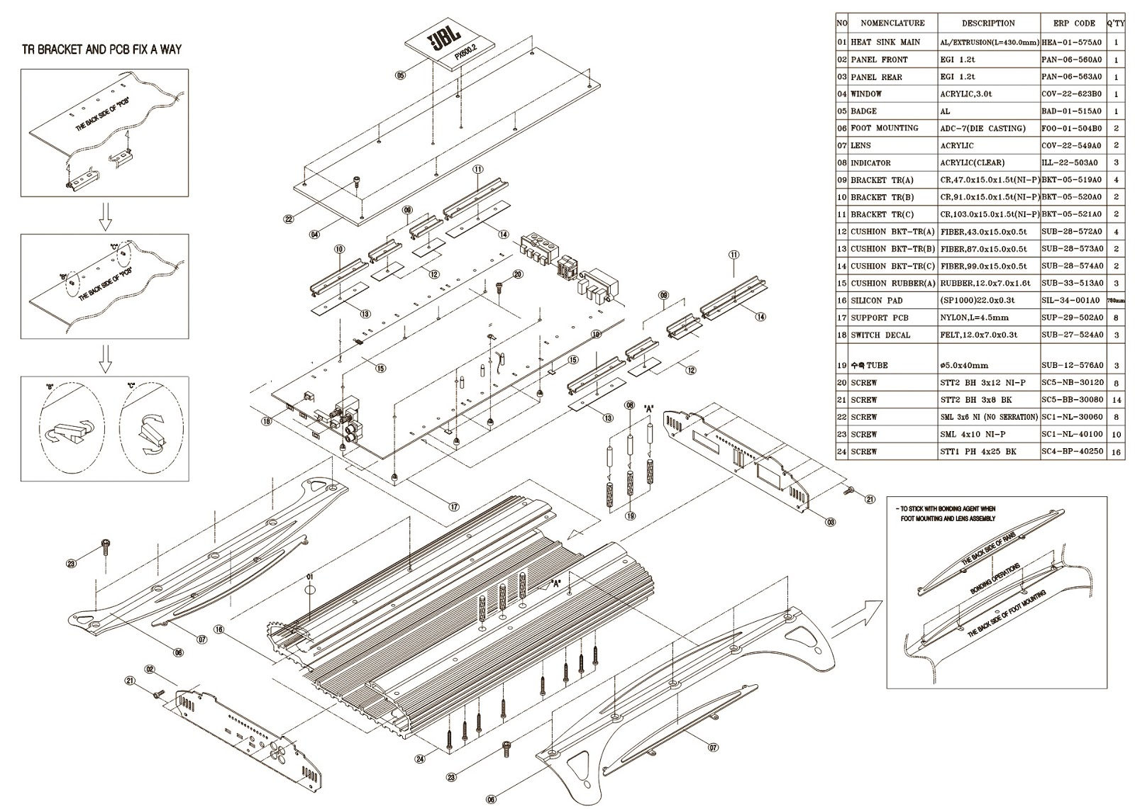 6 channel car amplifier wiring diagram