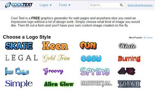 Cara Mudah Membuat Tulisan Animasi Bergerak Online - GRAFIS - MEDIA