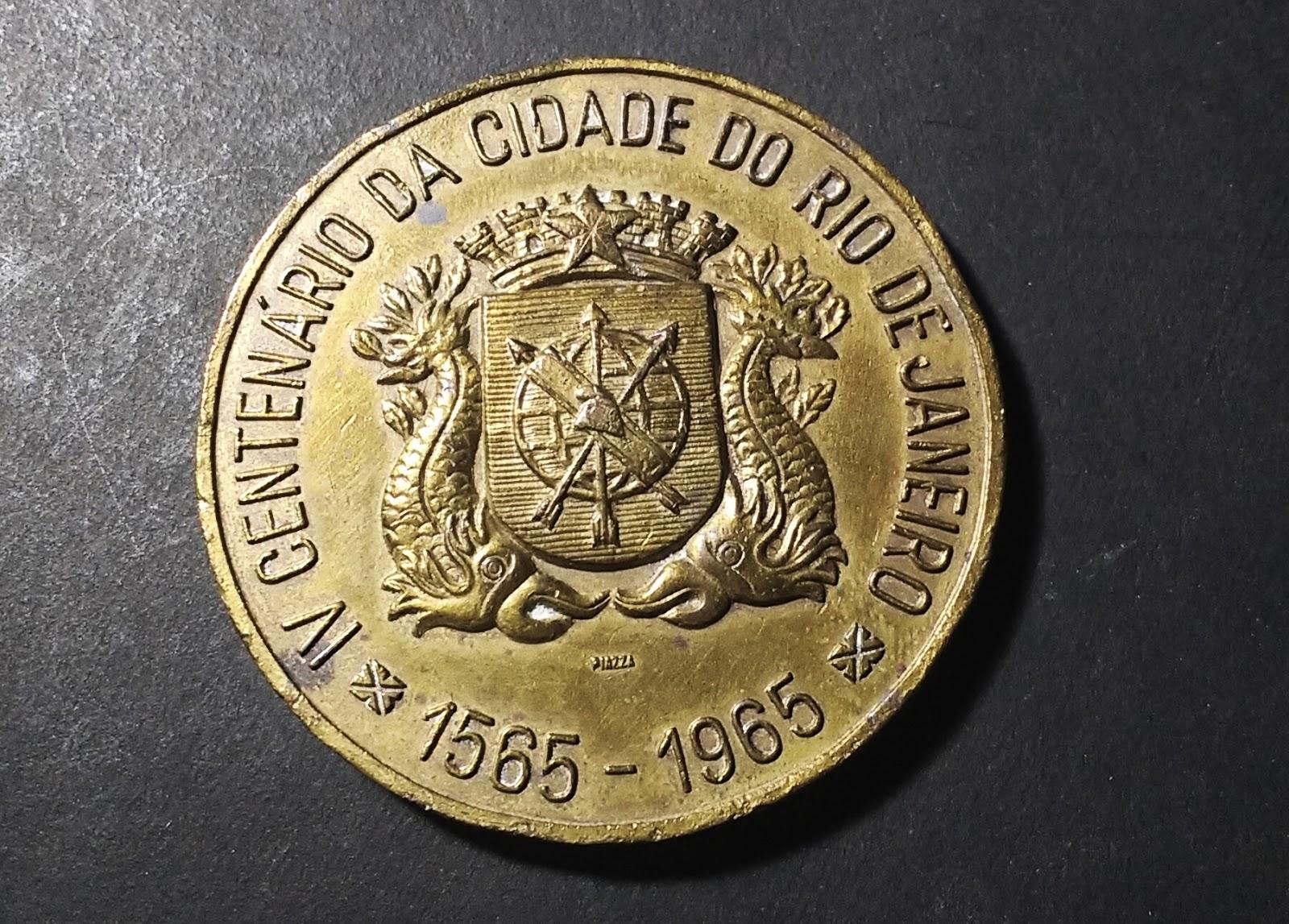 Acervo Vascolecionismo  Medalha do IV Centenário da Cidade do Rio de ... d2e36f17c4120