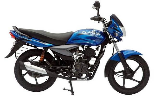 New 2018 Bajaj Platina Comfortec side look