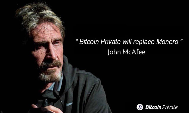 John McAfee Listens to Bitcoin Private Supporters to Lead a Cryptocurrency Privacy Movement