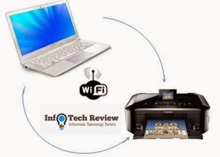 Cara Setting Koneksi Wireless Printer Ke PC atau Laptop Dengan Mudah