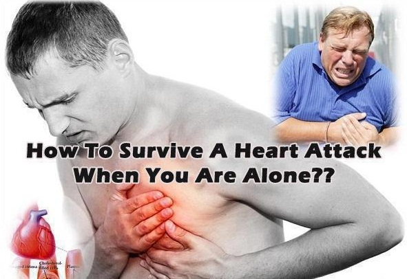 HOW TO SURVIVE A HEART ATTACK WHEN YOU ARE ALONE??