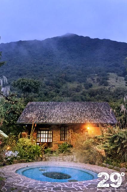 Papallacta Hot Springs - lyxigt och mysigt