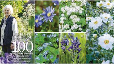 Las 100 plantas favoritas de Penelope Hobhouse