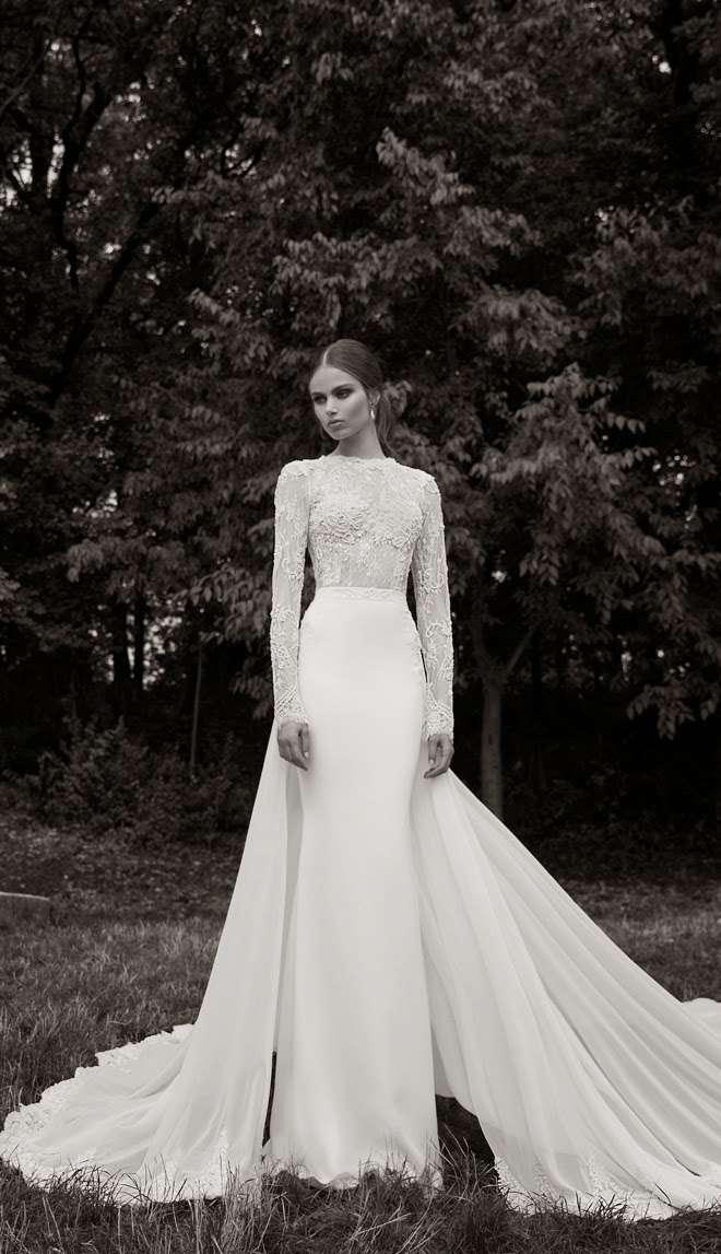 Berta Bridal Winter 2014 Collection - Part 1 - Belle The Magazine