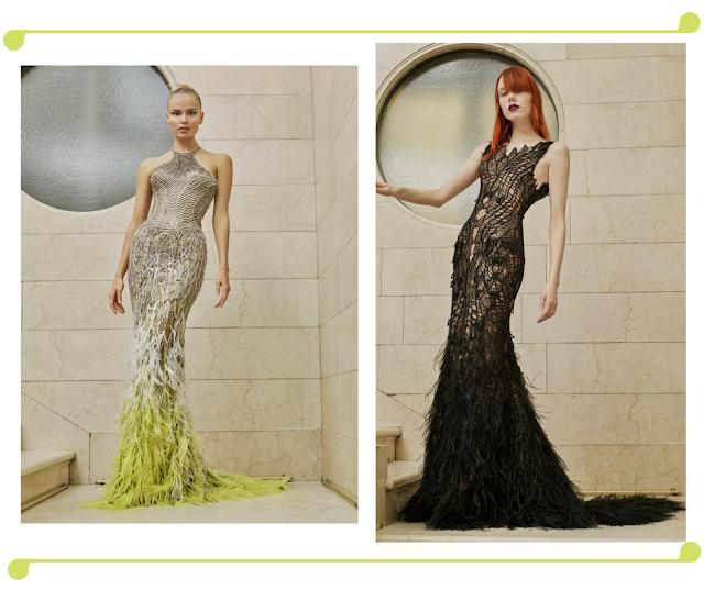 Modelos estilizados en bellisimos vestidos.