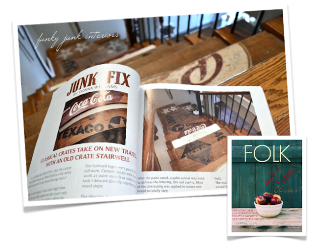 writing for FOLK magazine via Funky Junk Interiors