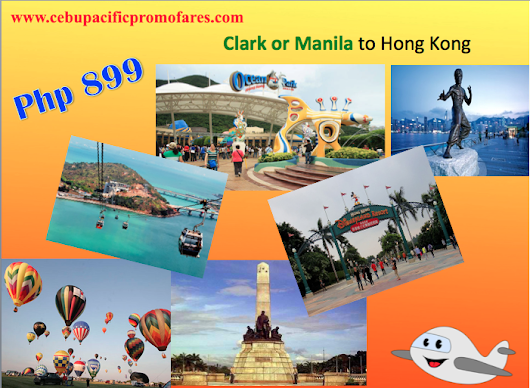 Promo Fare of Php 899 to Hong Kong