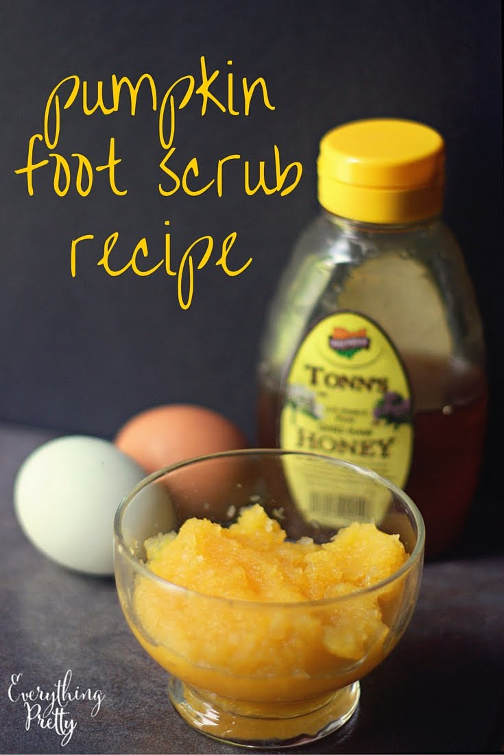 The DIY Pumpkin Foot Scrub You Need toTry pictures