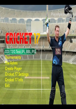 EA Sports Cricket 17 Full PC Game Free Download