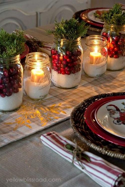 El mundo del reciclaje: decora tu mesa de navidad con elementos ...