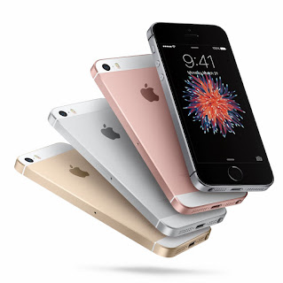 Source: Apple. The iPhone SE is available in four colours.