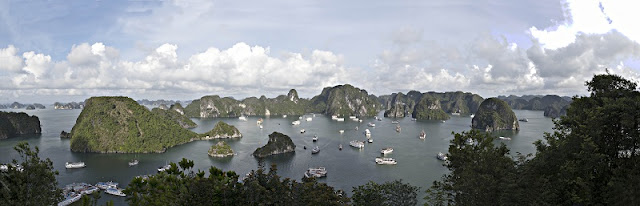 Halong Bay leads the world's most beautiful bays