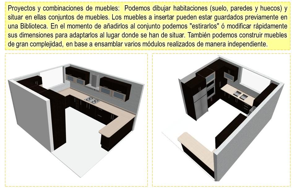 Dise os y optimisaci n de muebles en 3d programa para for Programa para disenar muebles de cocina