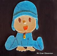 "Figura de chocolate ""POCOYO"" - Mona de Pascua I"