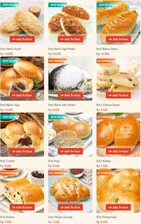 Daftar Harga Kue Holland Bakery Terbaru